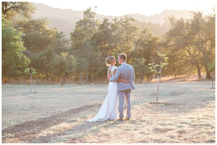 bride and groom married at triple s ranch napa wedding
