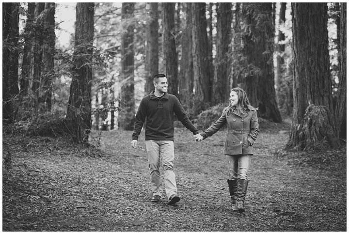 oakland forest engagement photos, redwood-engagement-session-angela-leo_0003